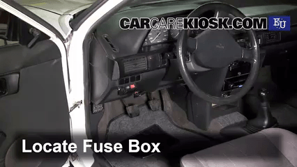 1991 mazda miata fuse box diagram sonic electronix subwoofer wiring interior location 1989 1995 323 bg series 1 3l 4 cyl check