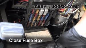 Interior Fuse Box Location: 19911996 Buick Park Avenue  1991 Buick Park Avenue 38L V6