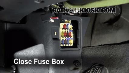 Geo Metro Fuse Box Cover Interior Fuse Box Location 1993 1997 Toyota Corolla