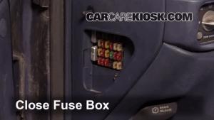 Interior Fuse Box Location: 19921999 Chevrolet Tahoe  1999 Chevrolet Tahoe 57L V8