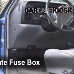 2001 Dodge Grand Caravan Fuse Box Diagram Hobart Welder Wiring Interior Location 1994 2002 Ram 2500 1997 Locate And Remove Cover