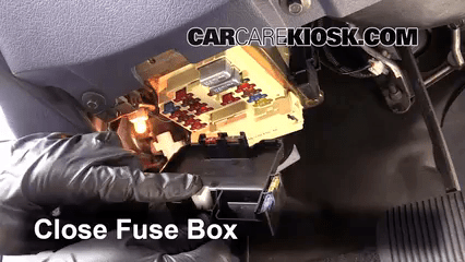 2000 Grand Marquis Fuse Box Diagram Interior Fuse Box Location 1990 1997 Ford Thunderbird