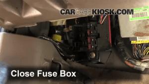 Interior Fuse Box Location: 19972004 Mitsubishi Montero