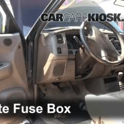 2003 Mitsubishi Lancer Car Radio Stereo Audio Wiring Diagram Clipping Duck Wings Interior Fuse Box Location 1997 2004 Montero Sport 2 Remove Cover Locate And