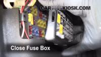 Interior Fuse Box Location: 1995-1999 Subaru Legacy - 1997 ...