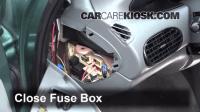 Interior Fuse Box Location: 1995-2000 Chrysler Cirrus ...
