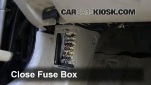 Interior Fuse Box Location: 19982002 Mazda 626  1998