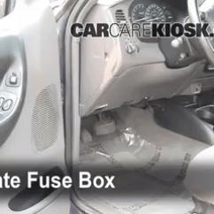 99 Ford Ranger Fuse Box Diagram 2007 Honda Civic Abs Wiring Interior Location 1998 2005 2000