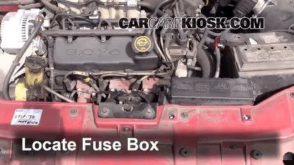1998 Mercury Mystique Fuse Box
