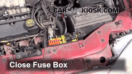1998 Mercury Mystique Fuse Box