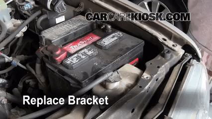 1996 toyota 4runner wiring diagram 2007 chevy tahoe parts battery replacement 2002 1999 8 secure replace the bracket to new