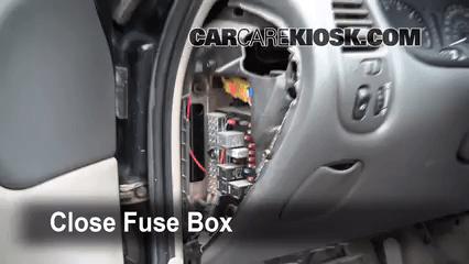 2003 Jeep Grand Cherokee Fuse Panel Diagram Interior Fuse Box Location 1999 2004 Oldsmobile Alero
