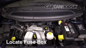 Interior Fuse Box Location: 20012004 Dodge Grand Caravan  2001 Dodge Grand Caravan Sport 33L V6