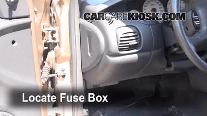 2001 Dodge Caravan Interior Fuse Box   Billingsblessingbags