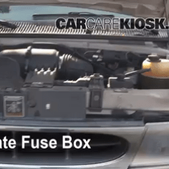 2006 Ford F350 Fuse Diagram 4 Pin Aviation Connector Wiring Replace A Fuse: 1990-2007 E-150 Econoline Club Wagon - 2001 ...