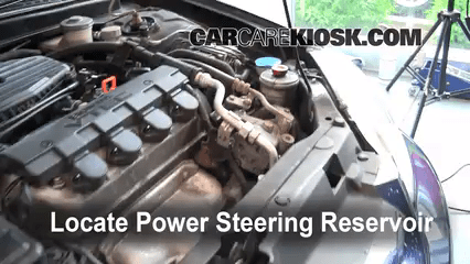 honda power steering diagram 1980 cb750 wiring leak fix 2001 2005 civic ex 1 7l 4 cyl coupe 2 door