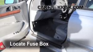 19952002 Lincoln Continental Interior Fuse Check  2001