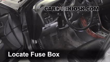 1999 2003 Acura Tl Interior Fuse Check