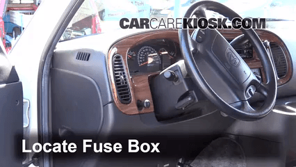 Is there an interior fuse box in dodge ram schematic
