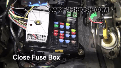 2002 nissan sentra fuse box diagram wiring wheel horse lawn tractor interior location: 2000-2007 ford taurus - se 2-valve 3.0l v6