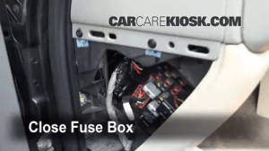 Interior Fuse Box Location: 20002006 GMC Yukon XL 2500  2001 GMC Yukon XL 2500 SLE 81L V8