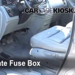 2003 Honda Crv Starter Wiring Diagram 1966 Vw Beetle Engine Odyssey Fuse Interior Box Location 1999 2004 2002