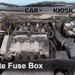 2002 Mazda Protege5 Engine Diagram 2001 Dodge Ram 1500 Alternator Wiring Replace A Fuse 1999 2003 Protege Es 2 0l Locate Box And Remove Cover