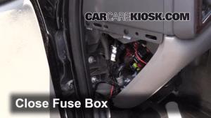 Interior Fuse Box Location: 20022006 Cadillac Escalade