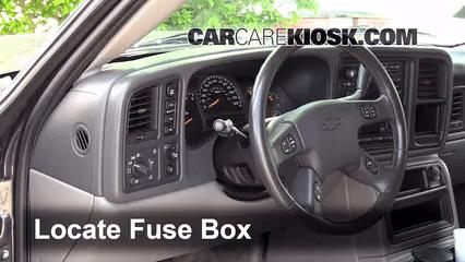 2003 chevy tahoe fuse box diagram tecumseh engine electrical interior location 2000 2006 chevrolet
