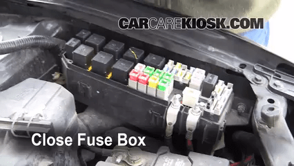 2004 mazda tribute fuse diagram balboa instruments wiring replace a fuse: 2001-2006 - 2001 dx 2.0l 4 cyl.