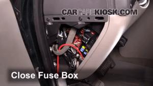 Interior Fuse Box Location: 19992006 GMC Yukon  2004 GMC Yukon SLT 53L V8