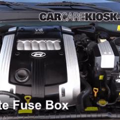 2005 Hyundai Sonata Fuse Box Diagram Appradio 2 Wiring Replace A 2001 Xg350 2004 L 3 5l V6 Locate Engine And Remove Cover