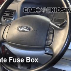 2001 Ford Focus Fuse Diagram 97 Honda Civic Ex Stereo Wiring Interior Box Location 1999 2007 F 250 Super Duty 2005