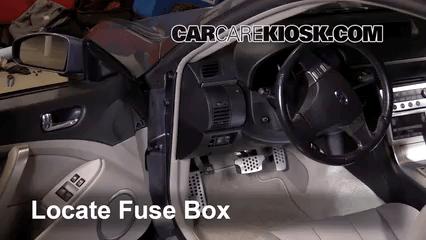 2003 Infiniti Fuse Box Diagram Interior Fuse Box Location 2003 2007 Infiniti G35 2003