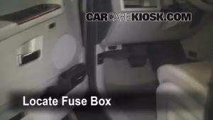 Interior Fuse Box Location: 20052010 Jeep Grand Cherokee