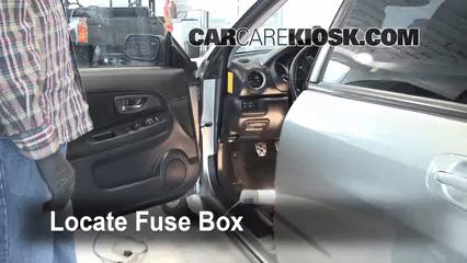 2011 Chevy Aveo Fuse Box Diagram Interior Fuse Box Location 2004 2007 Subaru Impreza