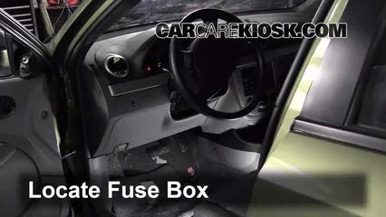 Interior Fuse Box Location 2007 2017 Suzuki Sx4 Hatchback