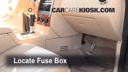 2010 Ford Explorer Interior Fuse Box Diagram