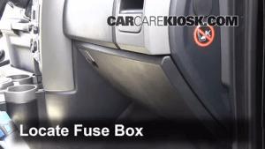 Interior Fuse Box Location: 20052009 Land Rover LR3  2006 Land Rover LR3 SE 44L V8