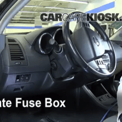 2002 Nissan Altima Fuse Diagram Ceiling Fan Switch Wiring Diagrams Interior Box Location 2006 2005 Locate And Remove Cover