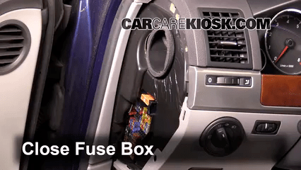 Volkswagen Jetta Radio Fuse Box Diagram Interior Fuse Box Location 2004 2010 Volkswagen Touareg