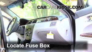 Interior Fuse Box Location: 20052009 Buick LaCrosse