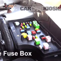 2007 Dodge Caliber Horn Wiring Diagram Capacitor Start Induction Motor Interior Fuse Box Location: 2007-2012 - Sxt 2.0l 4 Cyl.
