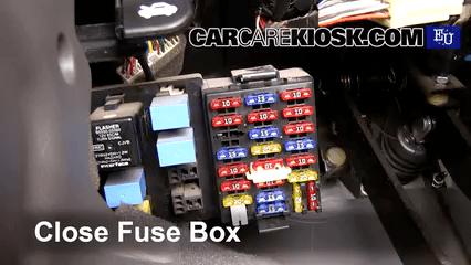 2006 Chevy Colorado Fuse Box Ubicaci 243 N De Caja De Fusibles Interior En Hyundai Atos