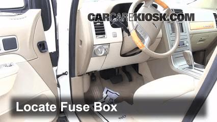 Under Dash Fuse Box Diagram 1997 Ford F 150 Interior Fuse Box Location 2007 2015 Lincoln Mkx 2007