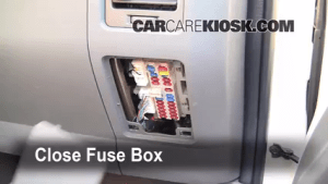 20012004 Nissan Pathfinder Interior Fuse Check  2002