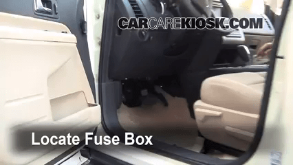 Ford Escape Hybrid Fuse Box Interior Fuse Box Location 2007 2010 Ford Edge 2008