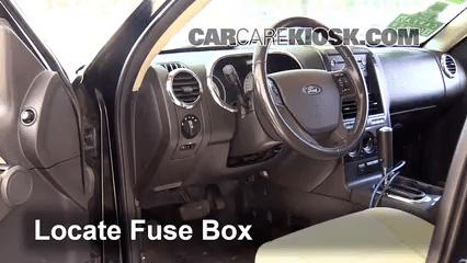 2009 f150 fuse panel diagram club car ds gas wiring interior box location: 2007-2010 ford explorer sport trac - 2008 ...