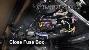 Interior Fuse Box Location: 20082009 Ford Taurus X  2008 Ford Taurus X Limited 35L V6