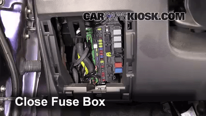 ford f350 fuse panel diagram mitsubishi canter alternator wiring interior box location: 2007-2008 honda fit - 2008 1.5l 4 cyl.